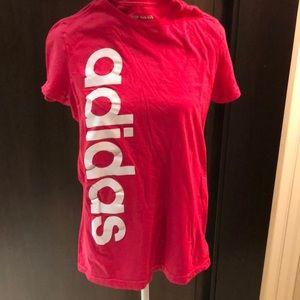 Adidas M pink tshirt